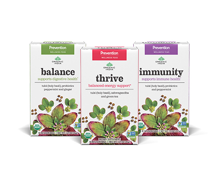 FREE SAMPLE ORGANIC INDIA Prevention Herbal Wellness Infusions
